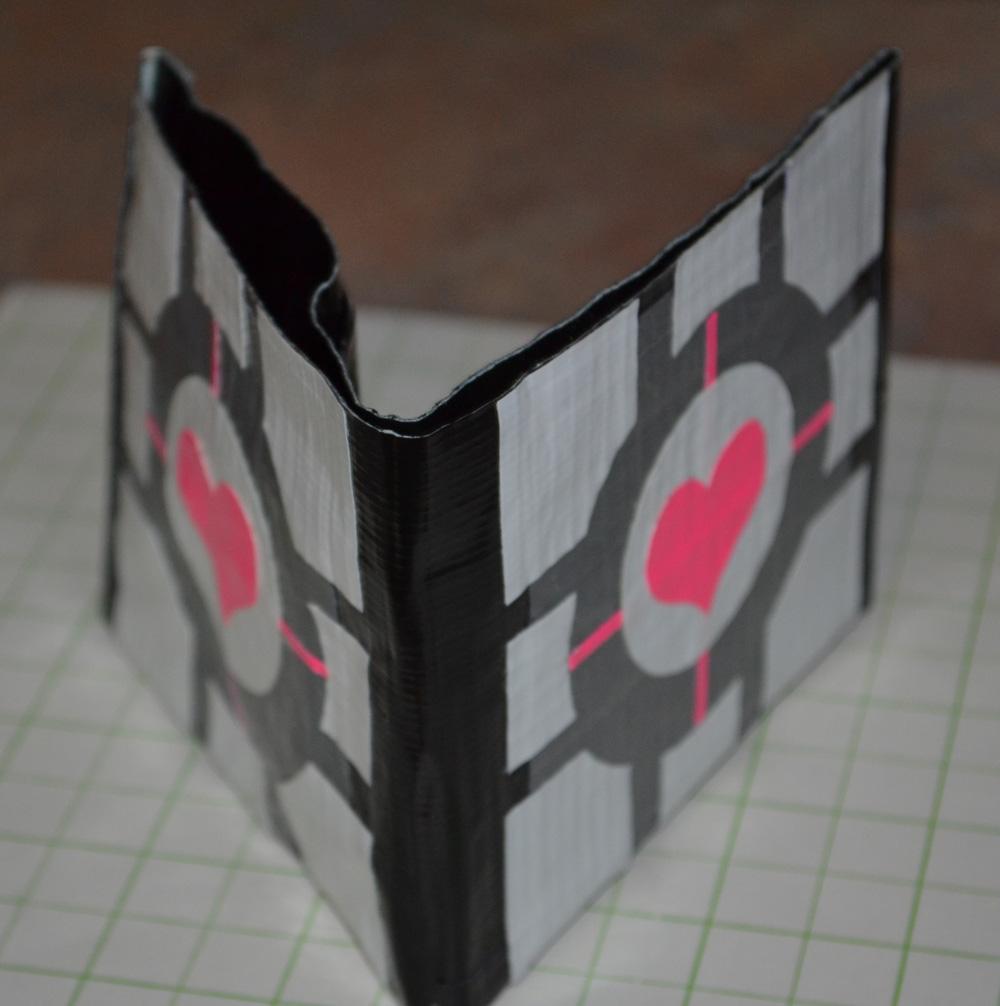 Companion Cube Wallet