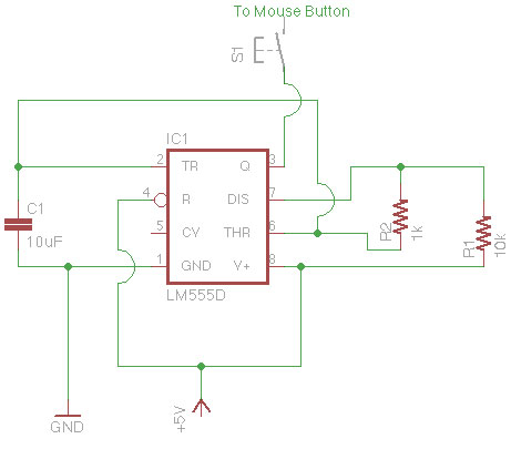 Schematic Auto Fire Mouse